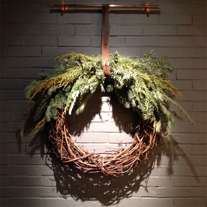 shinola wreath