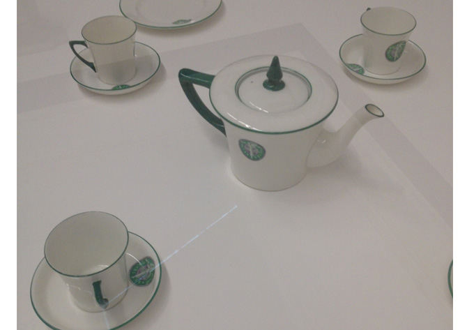 sugffregettes tea set
