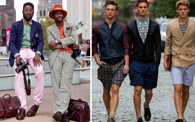 summer dressing men