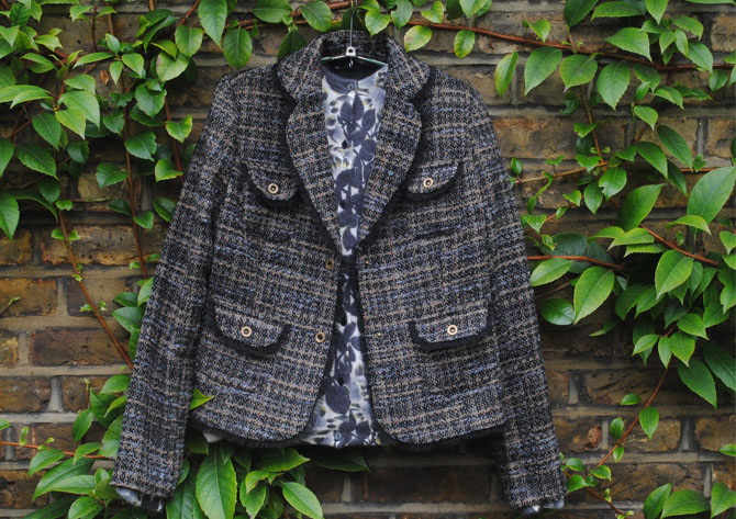 tkmaxx chanel inspired jacket