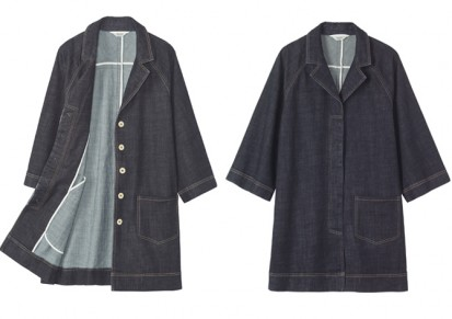 toast denim coat