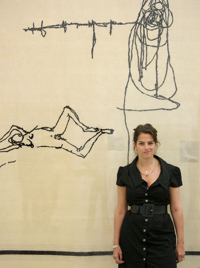 Tracey Emin by Olli Scarff, via The Guardian